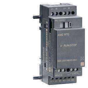 LOGO 6! AM2 RTD expansion module, PS: 12/24 V DC, 2AI-50...+200 °/C Pt100/1000