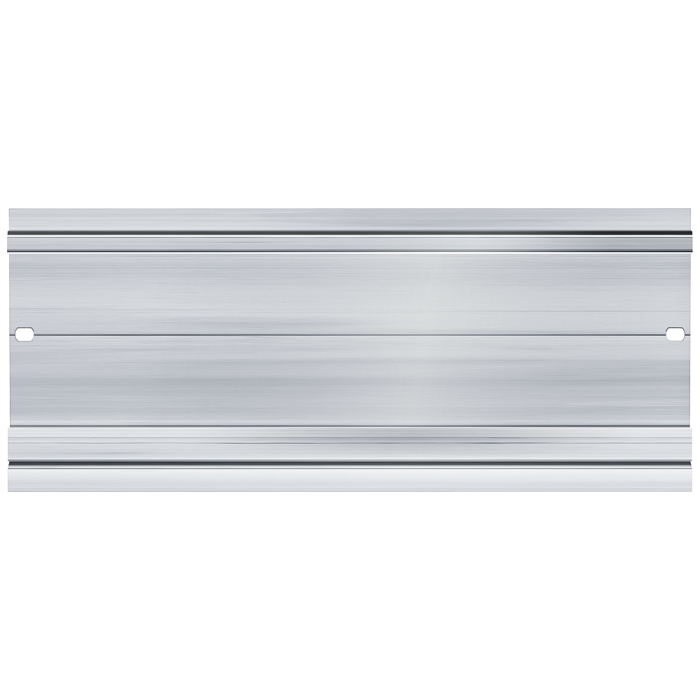 SIMATIC S7-1500, mounting rail 482.6 mm (approx. 19 inch); incl. grounding screw, integrated DIN rail for mounting of incidental