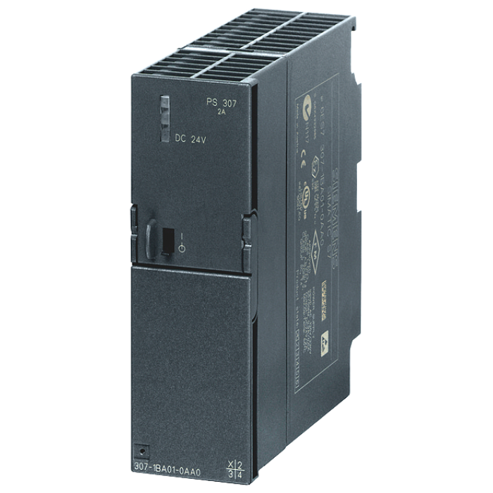 SIMATIC S7-300 Regulated power supply PS307 input: 120/230 V AC, output: 24 V DC/2 A